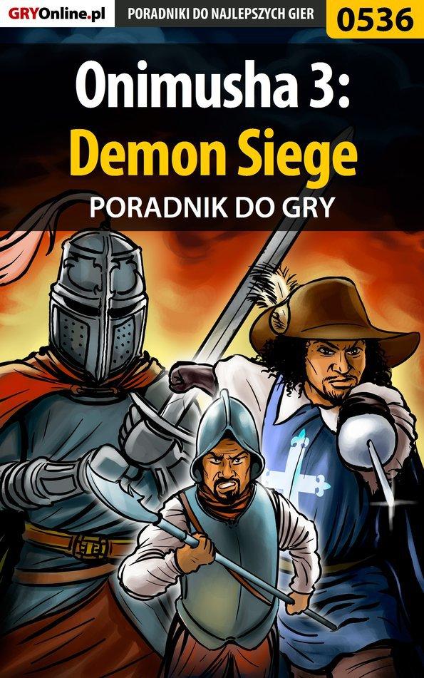 Onimusha 3: Demon Siege - poradnik do gry - Ebook (Książka PDF) do pobrania w formacie PDF
