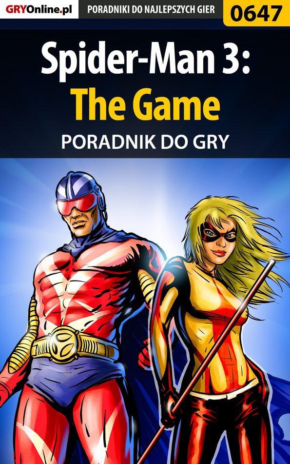 Spider-Man 3: The Game - poradnik do gry - Ebook (Książka PDF) do pobrania w formacie PDF