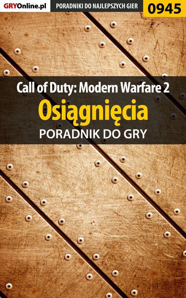 Call of Duty: Modern Warfare 2 - osiągnięcia - poradnik do gry - Ebook (Książka PDF) do pobrania w formacie PDF