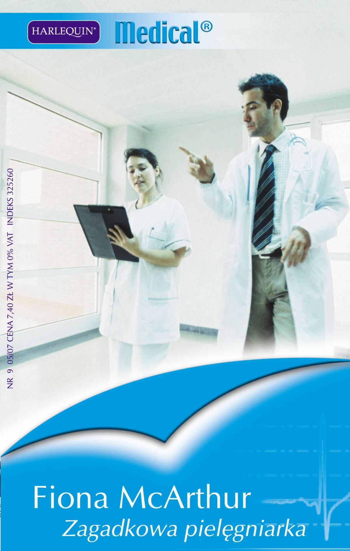 Zagadkowa pielęgniarka - Ebook (Książka PDF) do pobrania w formacie PDF