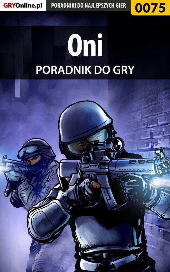 Oni - poradnik do gry - Ebook (Książka PDF) do pobrania w formacie PDF