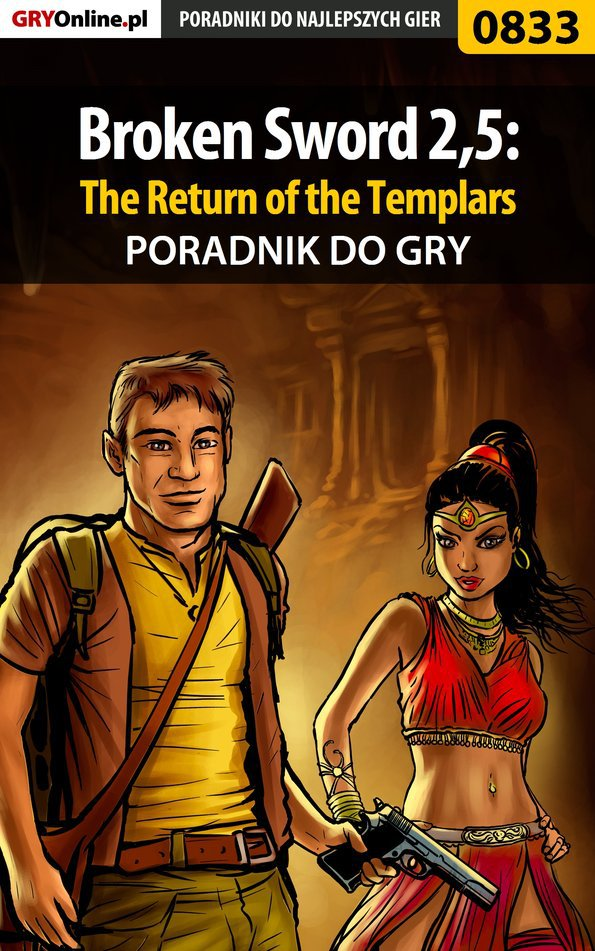 Broken Sword 2,5: The Return of the Templars - poradnik do gry - Ebook (Książka PDF) do pobrania w formacie PDF
