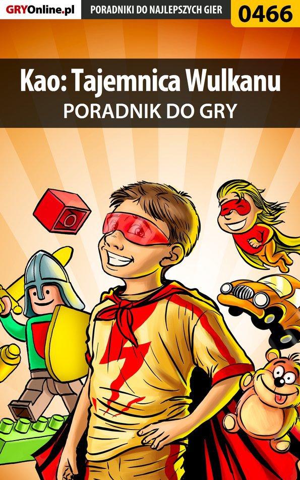 Kao: Tajemnica Wulkanu - poradnik do gry - Ebook (Książka PDF) do pobrania w formacie PDF