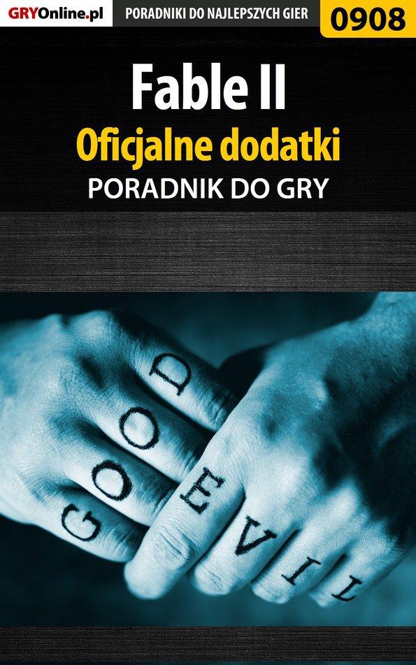 Fable II - oficjalne dodatki - poradnik do gry - Ebook (Książka PDF) do pobrania w formacie PDF