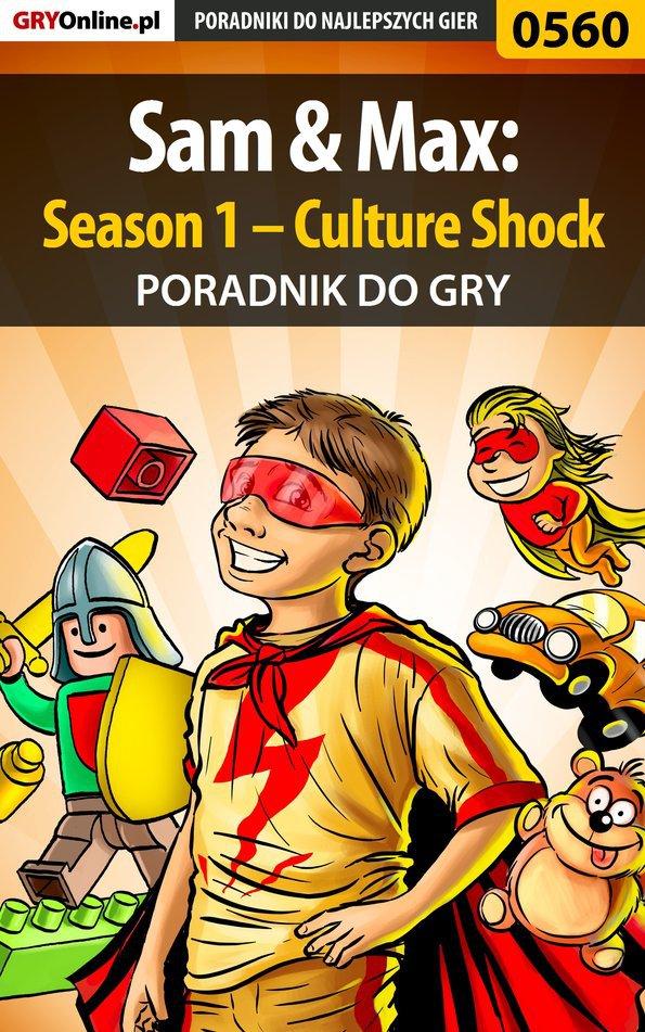 Sam  Max: Season 1 – Culture Shock - poradnik do gry - Ebook (Książka PDF) do pobrania w formacie PDF