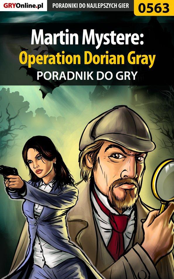 Martin Mystere: Operation Dorian Gray - poradnik do gry - Ebook (Książka PDF) do pobrania w formacie PDF