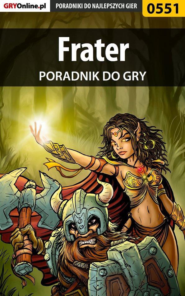 Frater - poradnik do gry - Ebook (Książka PDF) do pobrania w formacie PDF