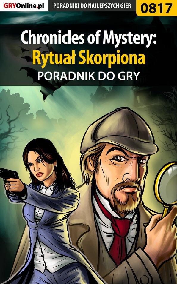Chronicles of Mystery: Rytuał Skorpiona - poradnik do gry - Ebook (Książka PDF) do pobrania w formacie PDF