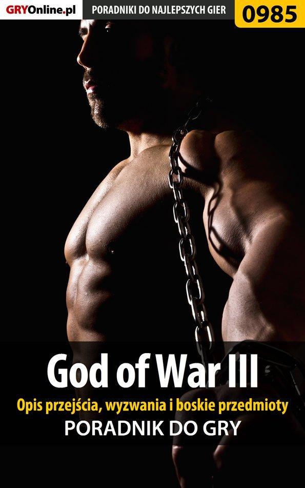 God of War III - opis przejścia, wyzwania, boskie przedmioty - Ebook (Książka PDF) do pobrania w formacie PDF