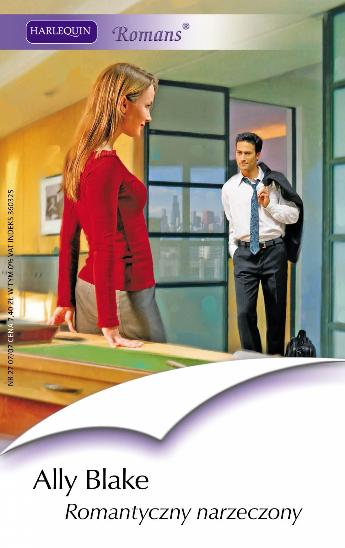 Romantyczny narzeczony - Ebook (Książka PDF) do pobrania w formacie PDF