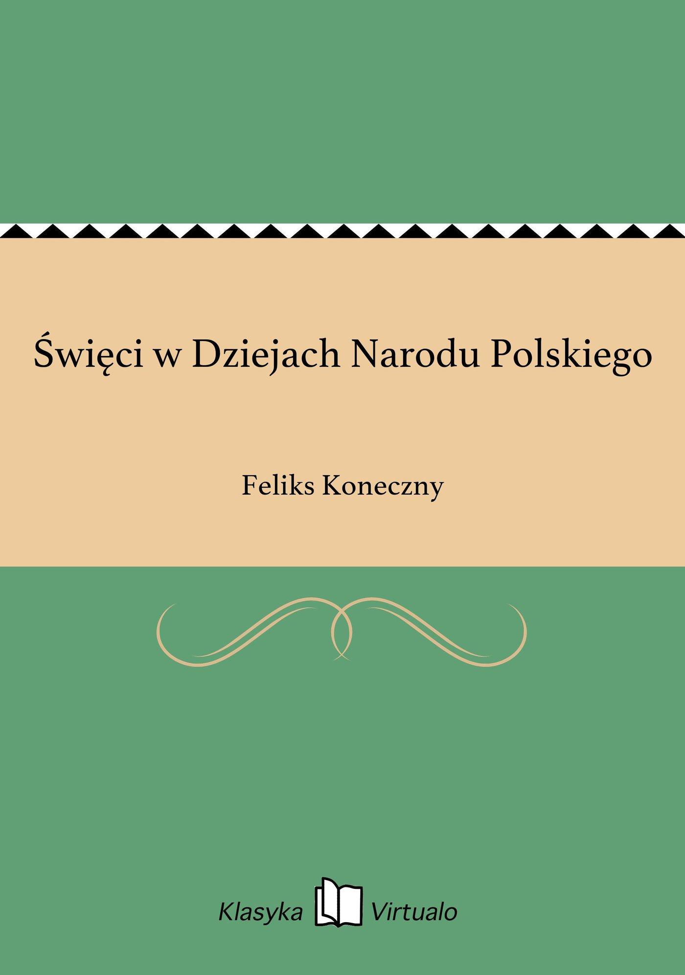 Święci w Dziejach Narodu Polskiego - Ebook (Książka EPUB) do pobrania w formacie EPUB