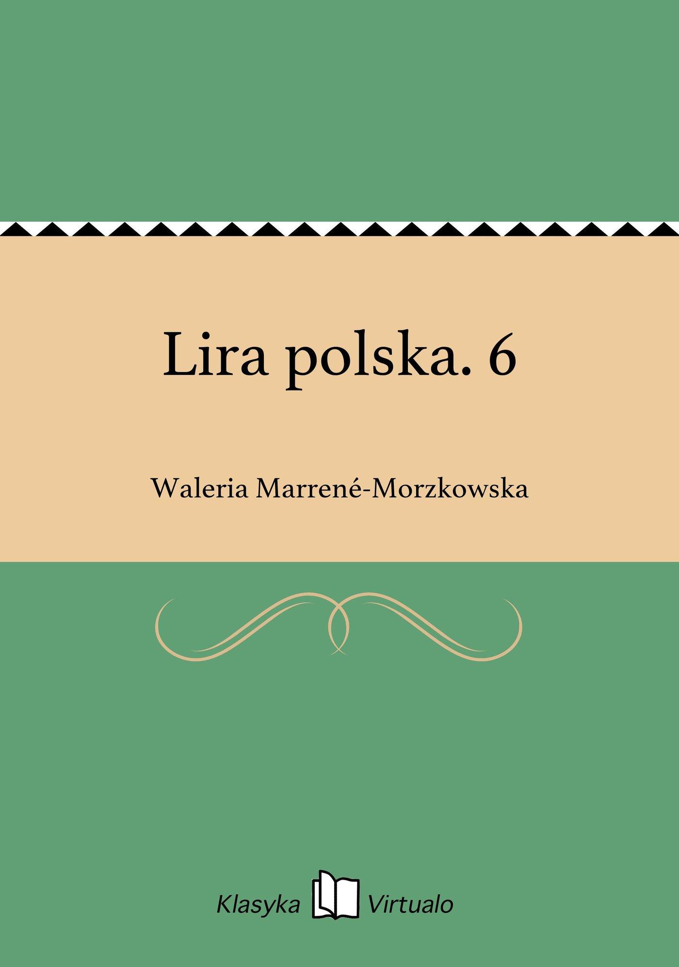 Lira polska. 6 - Ebook (Książka EPUB) do pobrania w formacie EPUB