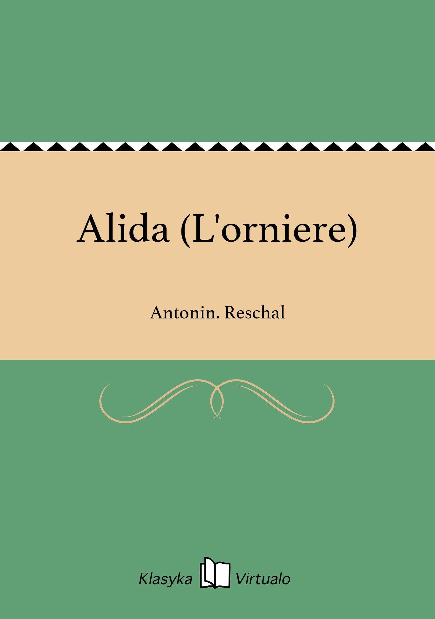 Alida (L'orniere) - Ebook (Książka EPUB) do pobrania w formacie EPUB