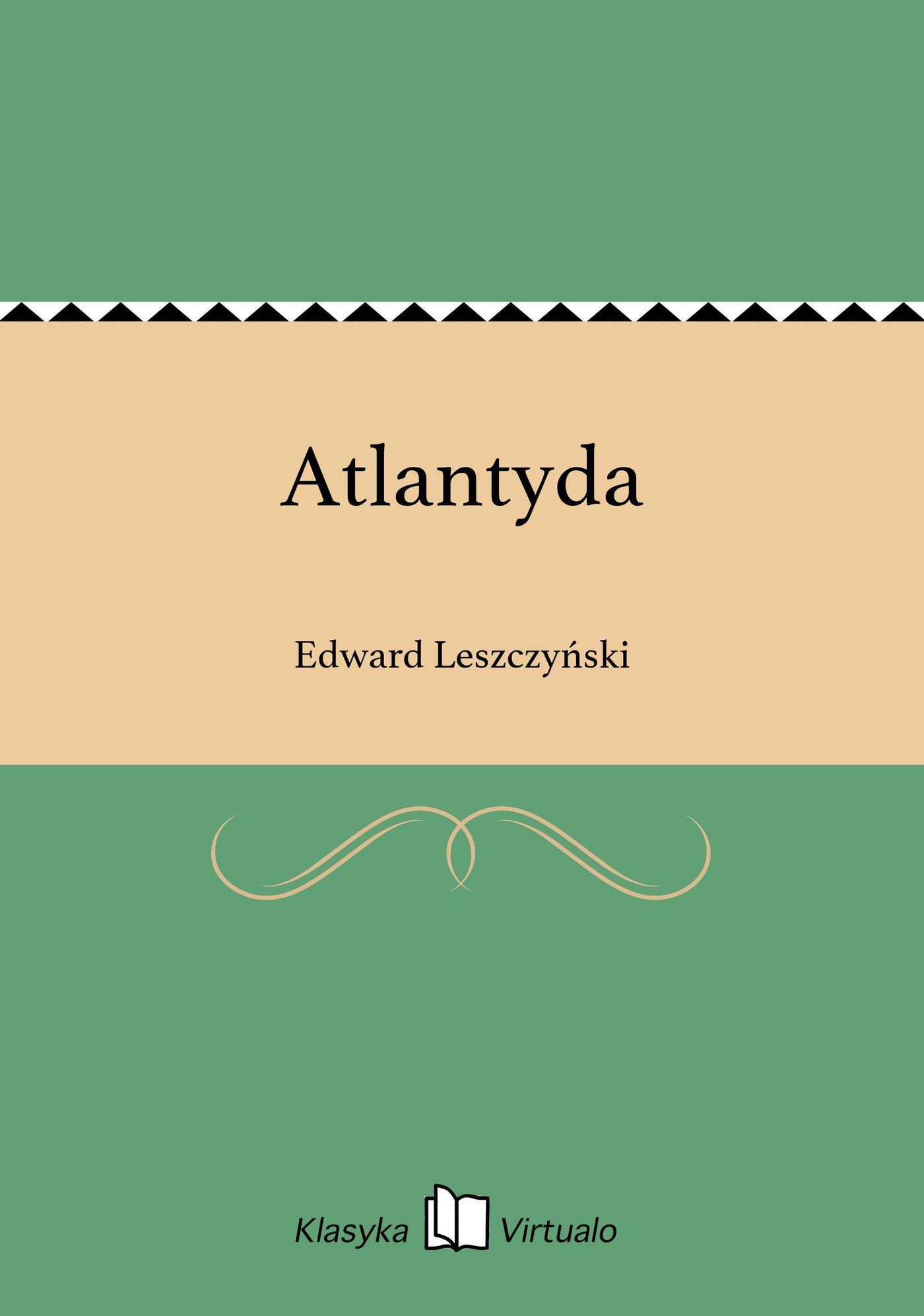 Atlantyda - Ebook (Książka EPUB) do pobrania w formacie EPUB