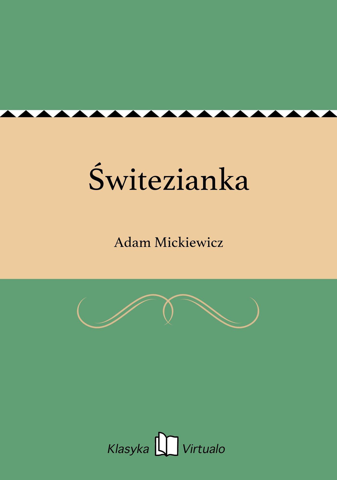Świtezianka - Ebook (Książka EPUB) do pobrania w formacie EPUB
