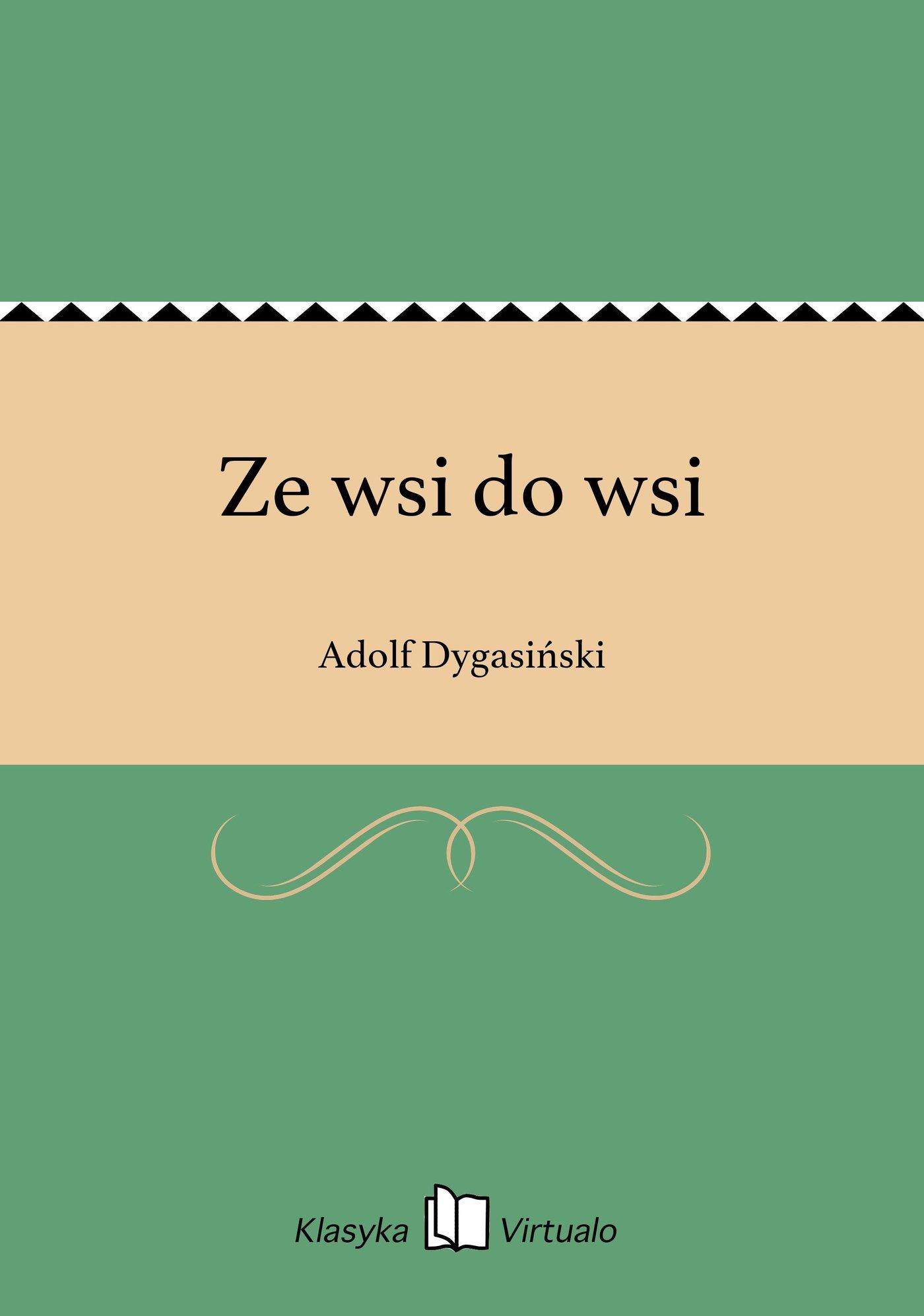 Ze wsi do wsi - Ebook (Książka EPUB) do pobrania w formacie EPUB