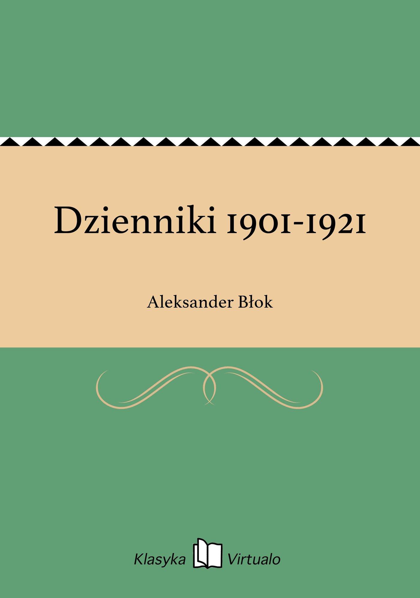 Dzienniki 1901-1921 - Ebook (Książka EPUB) do pobrania w formacie EPUB