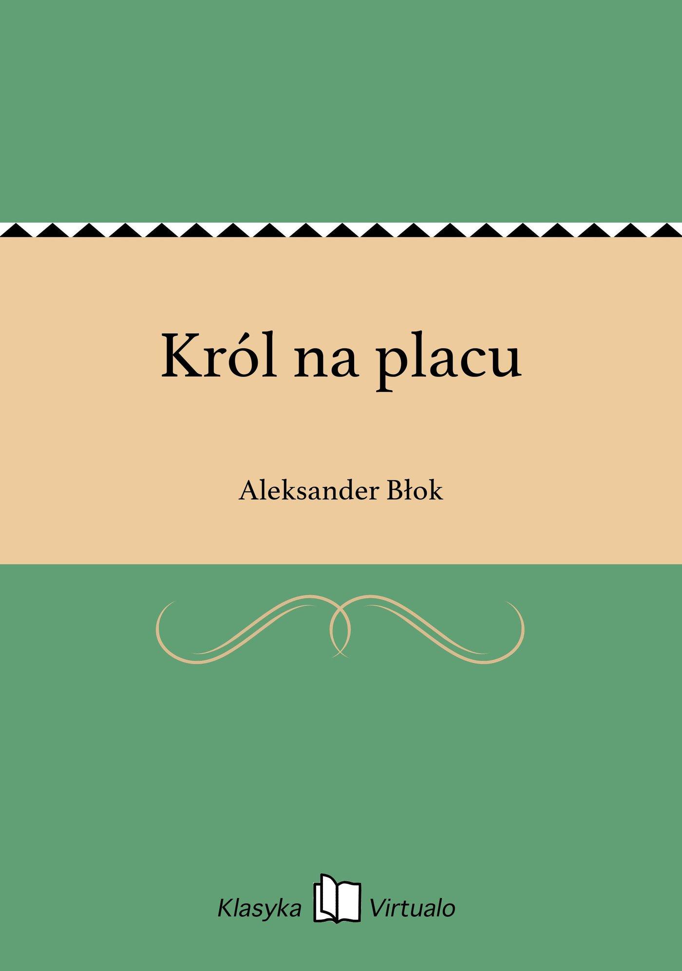 Król na placu - Ebook (Książka EPUB) do pobrania w formacie EPUB