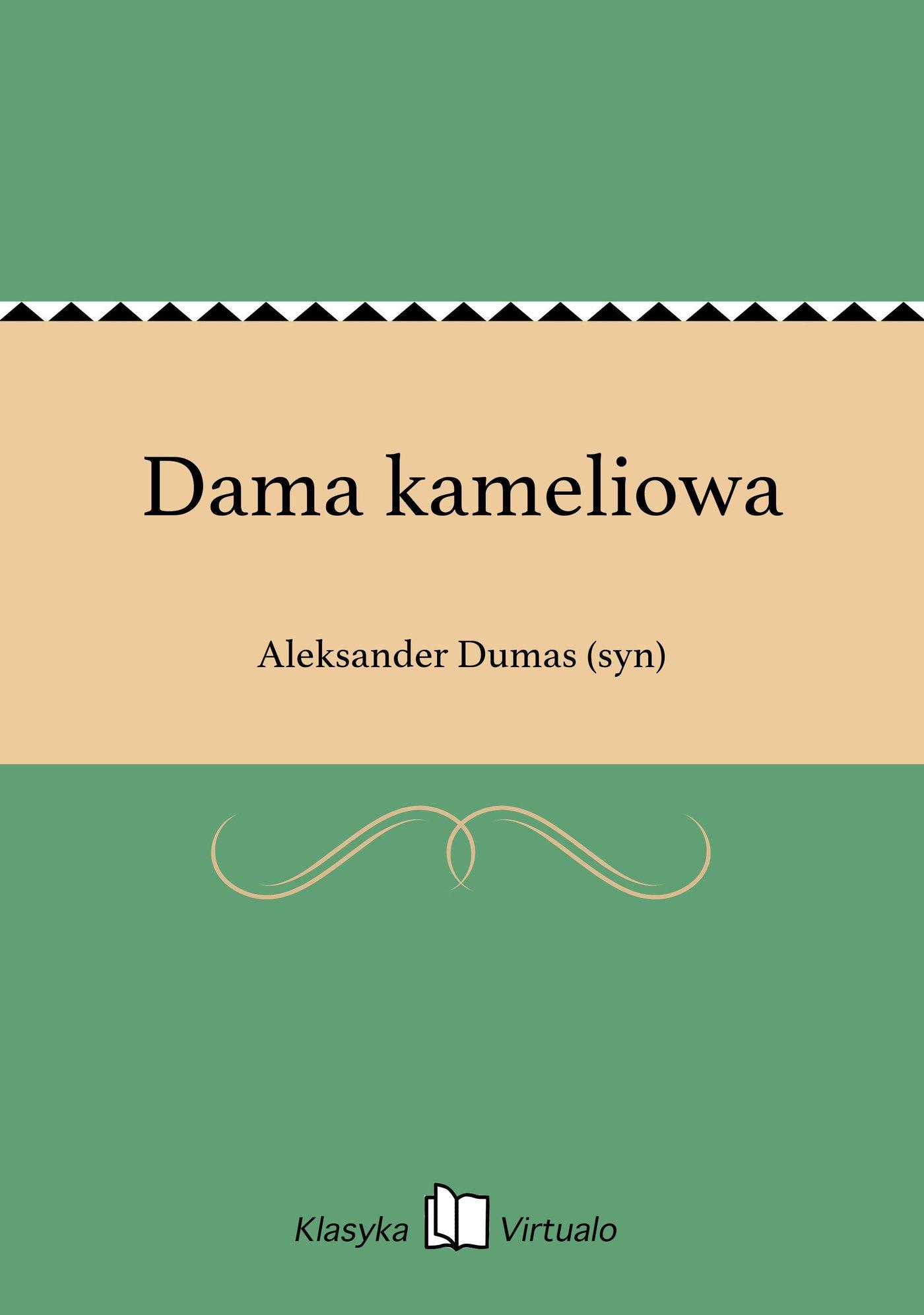 Dama kameliowa - Ebook (Książka EPUB) do pobrania w formacie EPUB