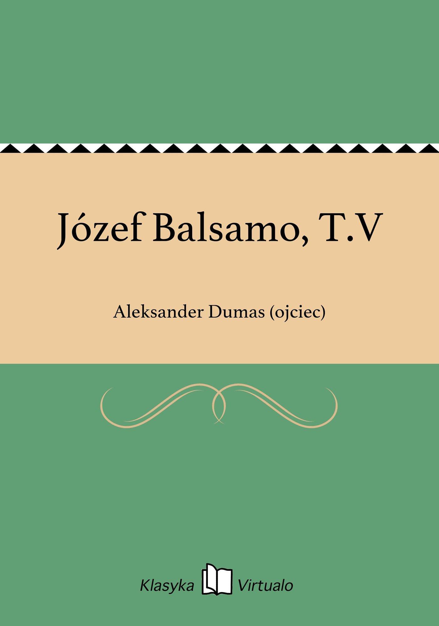 Józef Balsamo, T.V - Ebook (Książka EPUB) do pobrania w formacie EPUB