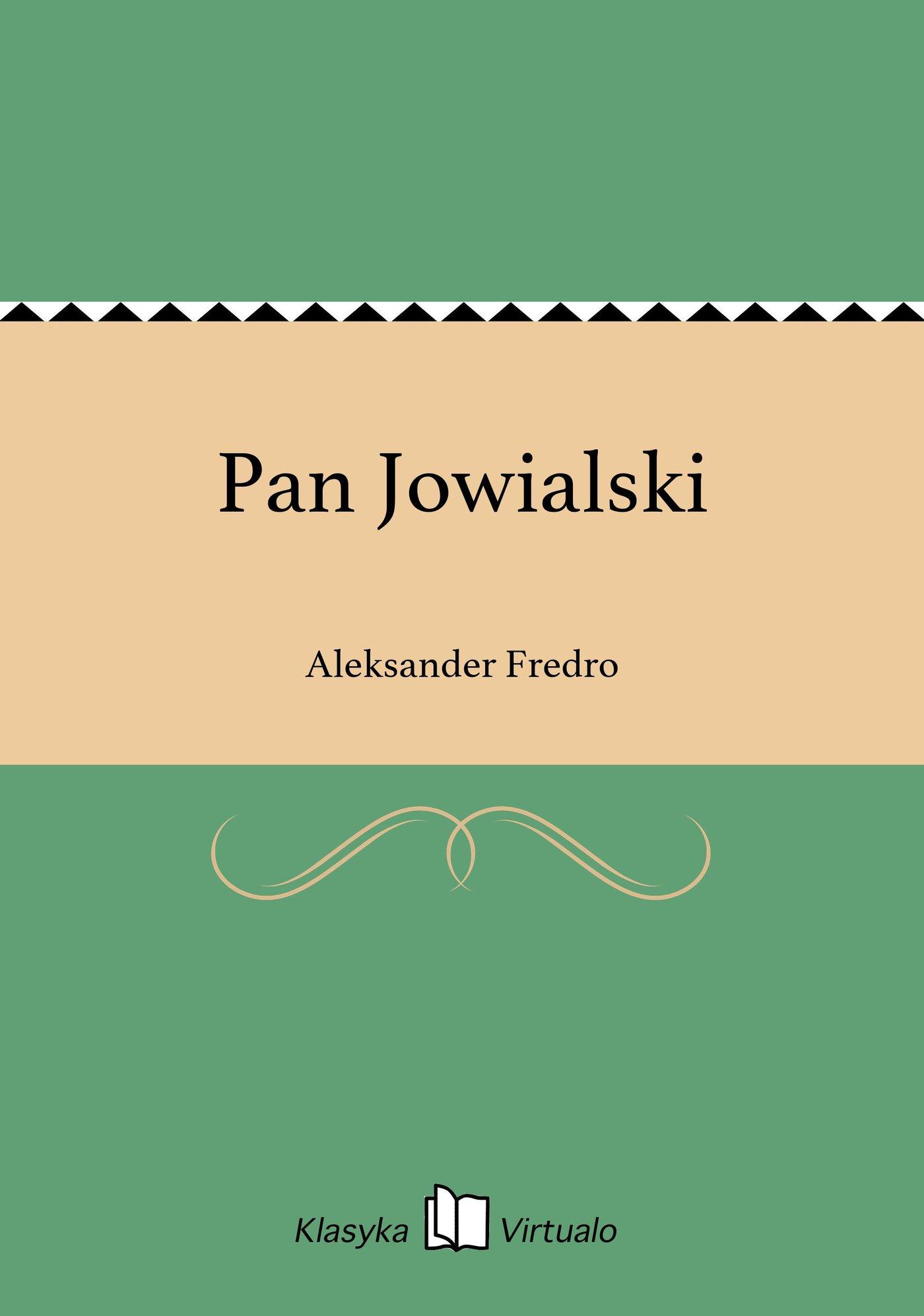 Pan Jowialski - Ebook (Książka EPUB) do pobrania w formacie EPUB