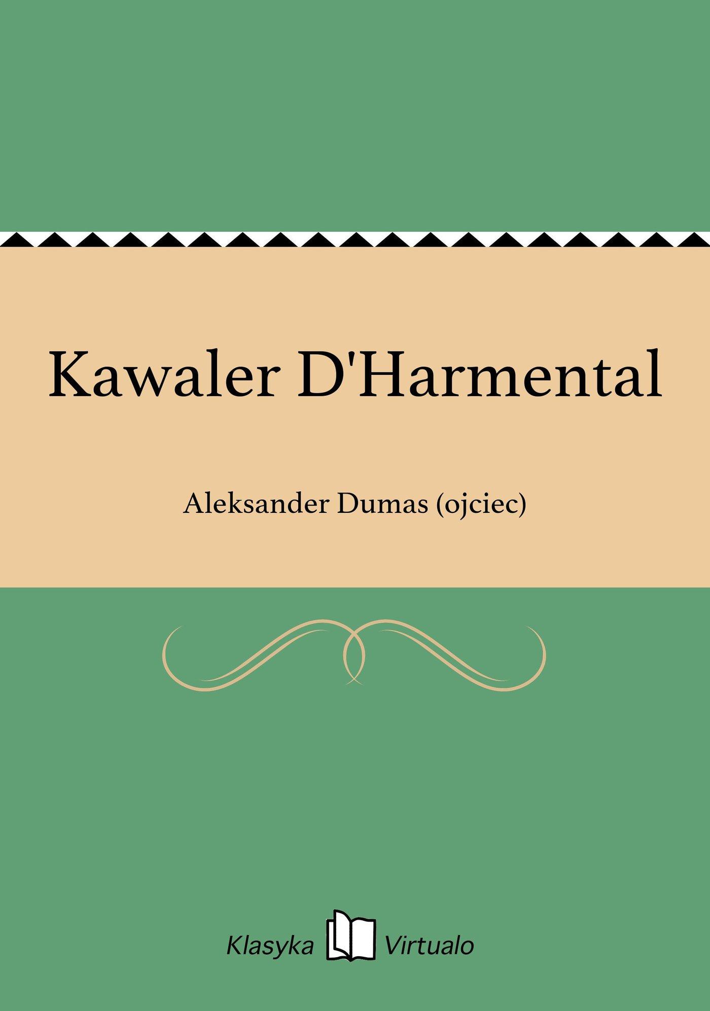 Kawaler D'Harmental - Ebook (Książka EPUB) do pobrania w formacie EPUB