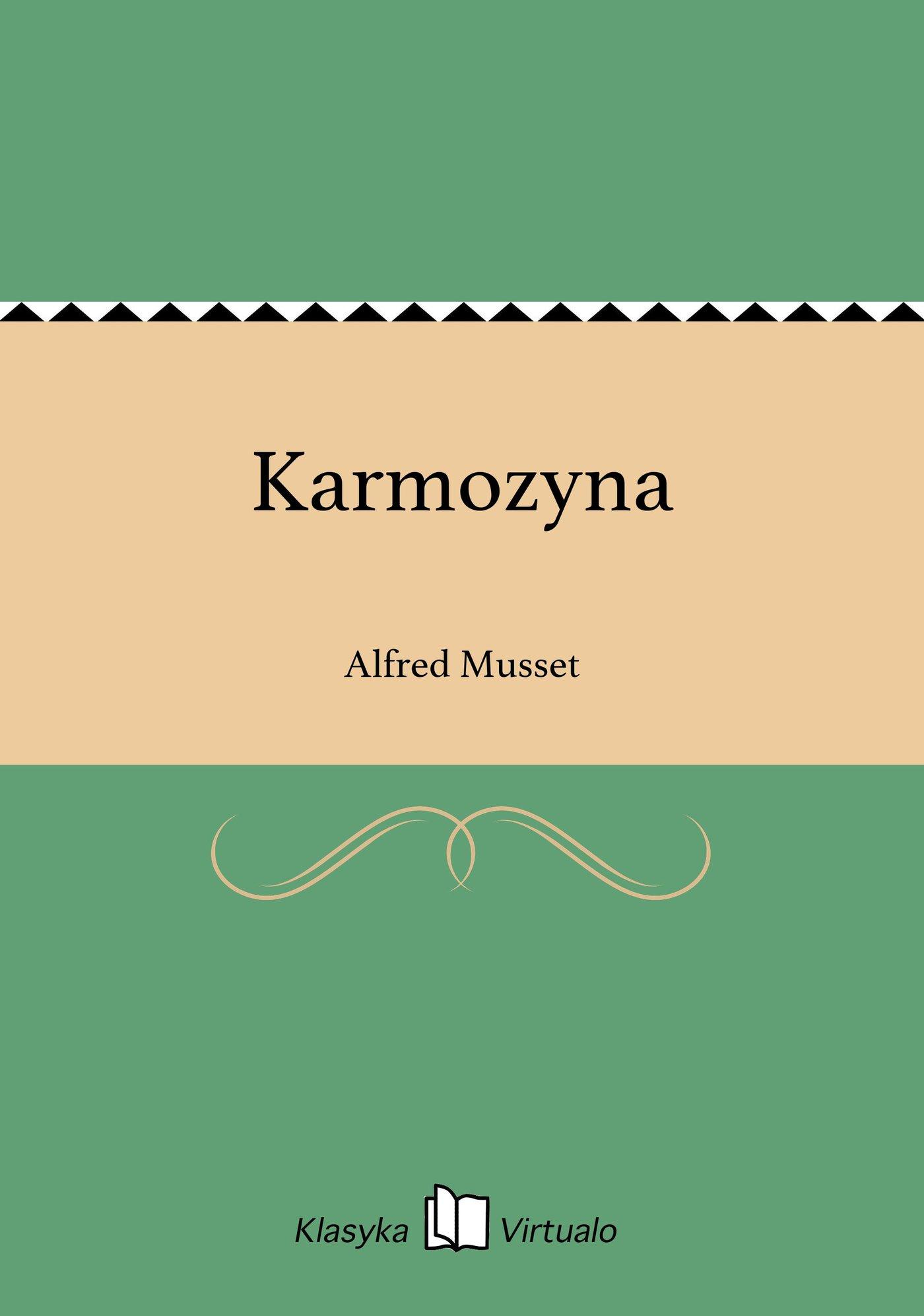 Karmozyna - Ebook (Książka EPUB) do pobrania w formacie EPUB