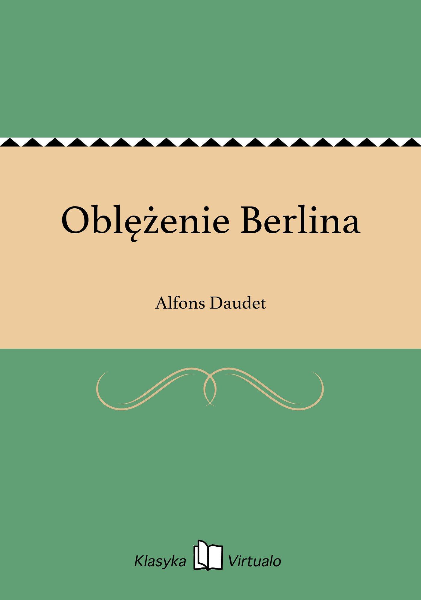 Oblężenie Berlina - Ebook (Książka EPUB) do pobrania w formacie EPUB