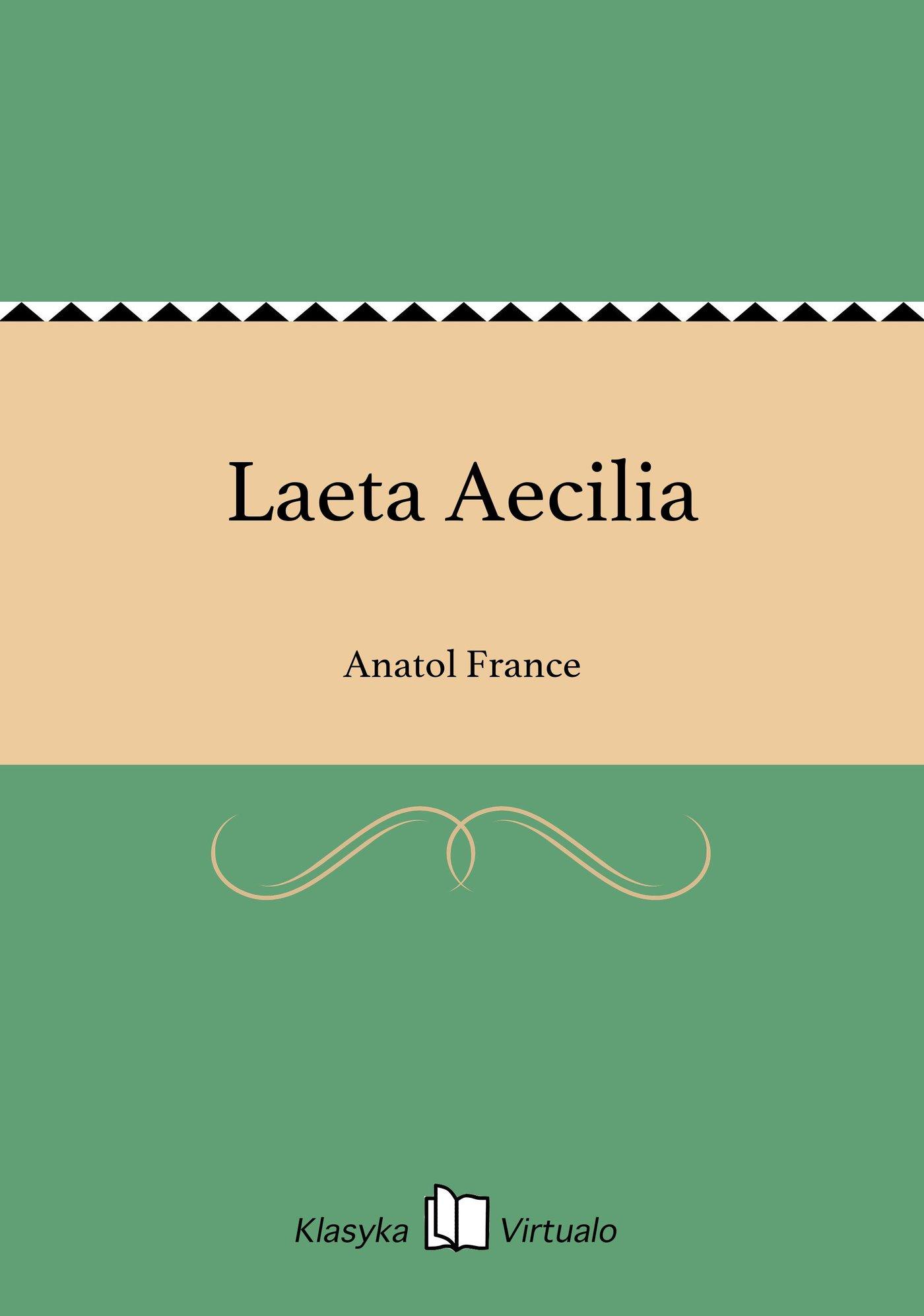 Laeta Aecilia - Ebook (Książka EPUB) do pobrania w formacie EPUB