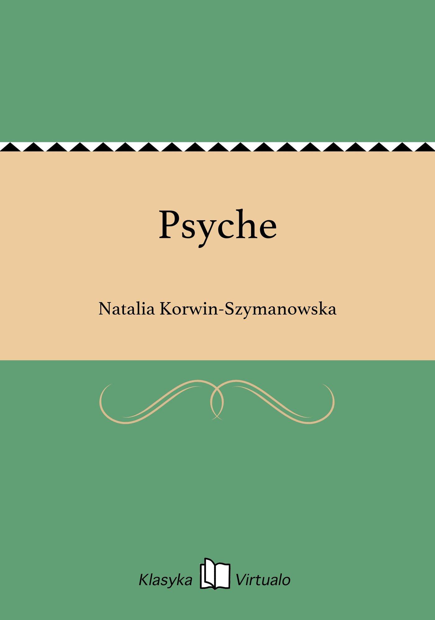 Psyche - Ebook (Książka EPUB) do pobrania w formacie EPUB