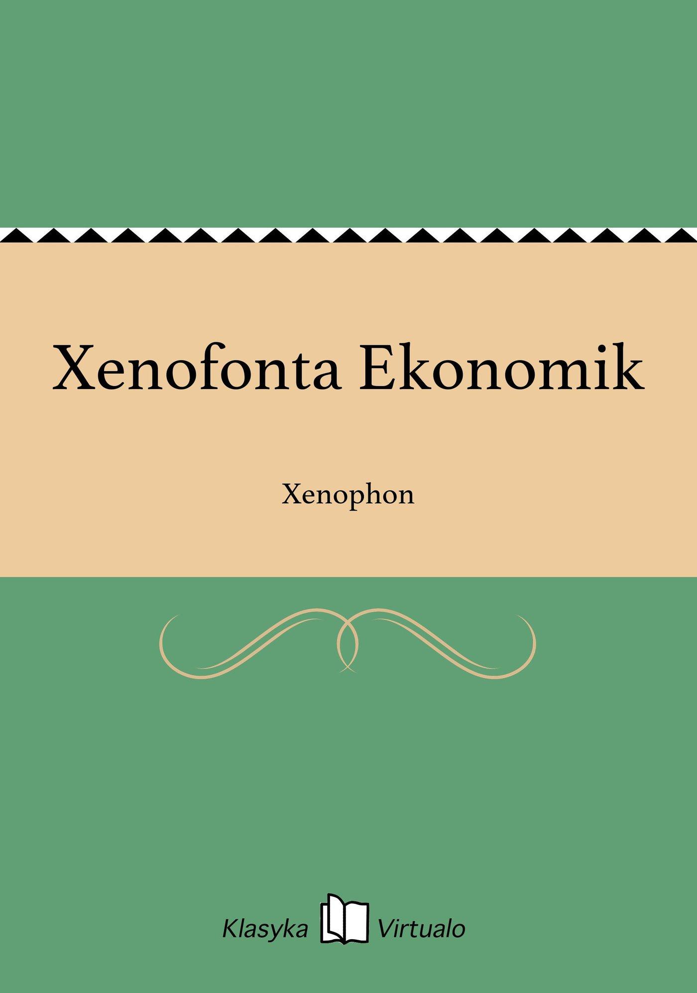 Xenofonta Ekonomik - Ebook (Książka EPUB) do pobrania w formacie EPUB