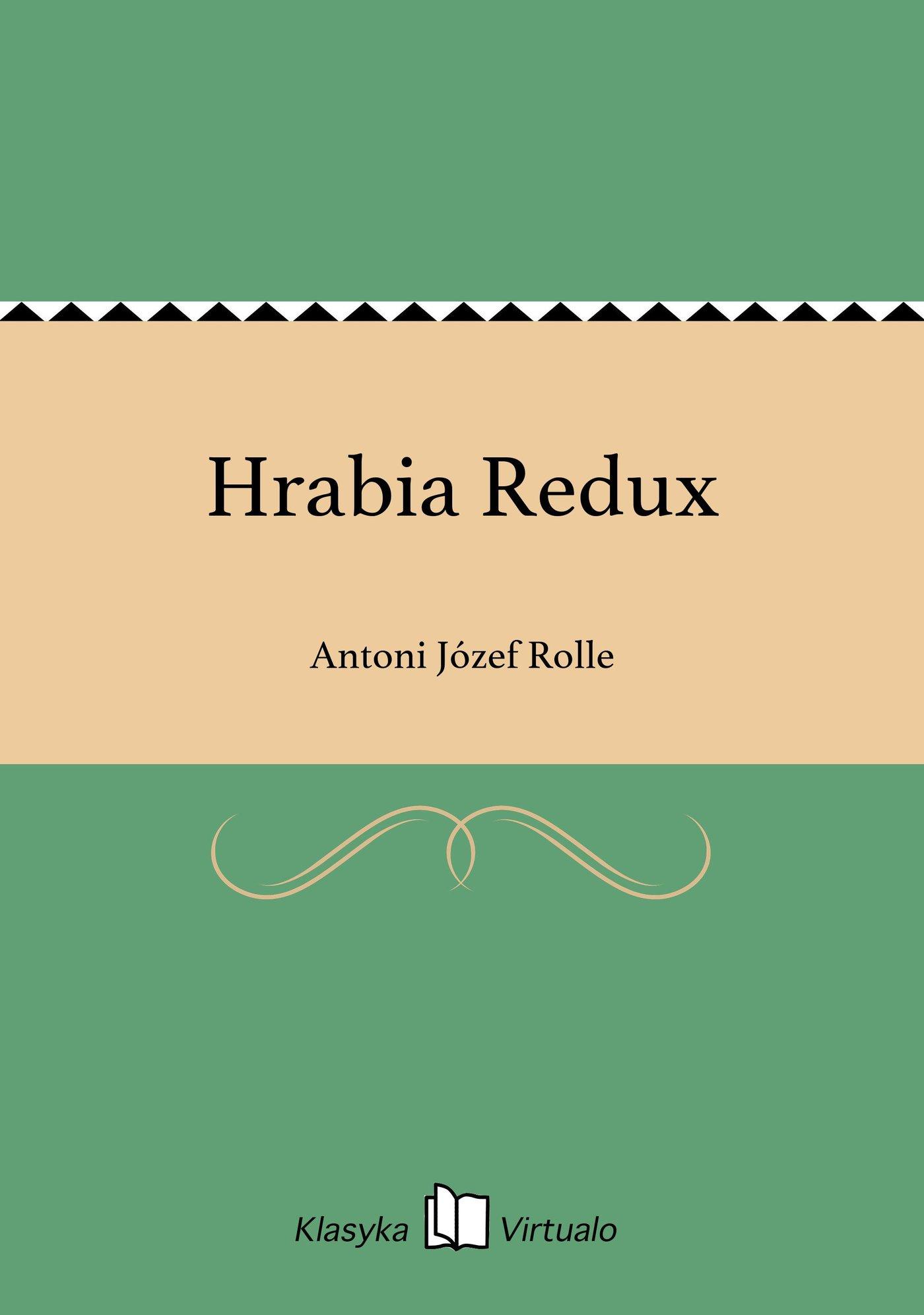Hrabia Redux - Ebook (Książka EPUB) do pobrania w formacie EPUB