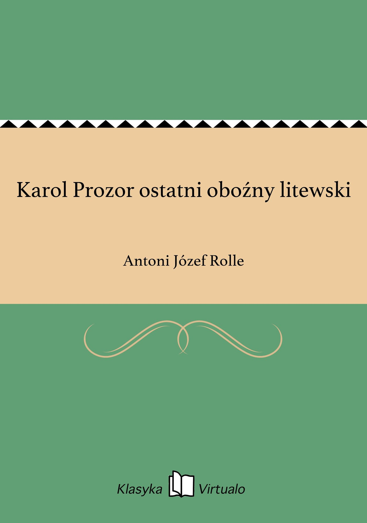 Karol Prozor ostatni oboźny litewski - Ebook (Książka EPUB) do pobrania w formacie EPUB