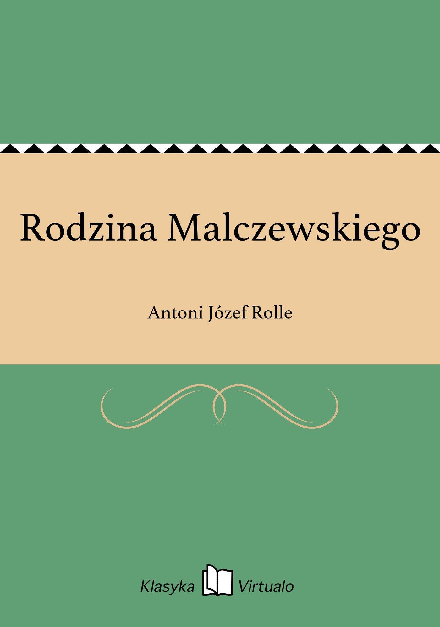 Rodzina Malczewskiego - Ebook (Książka EPUB) do pobrania w formacie EPUB