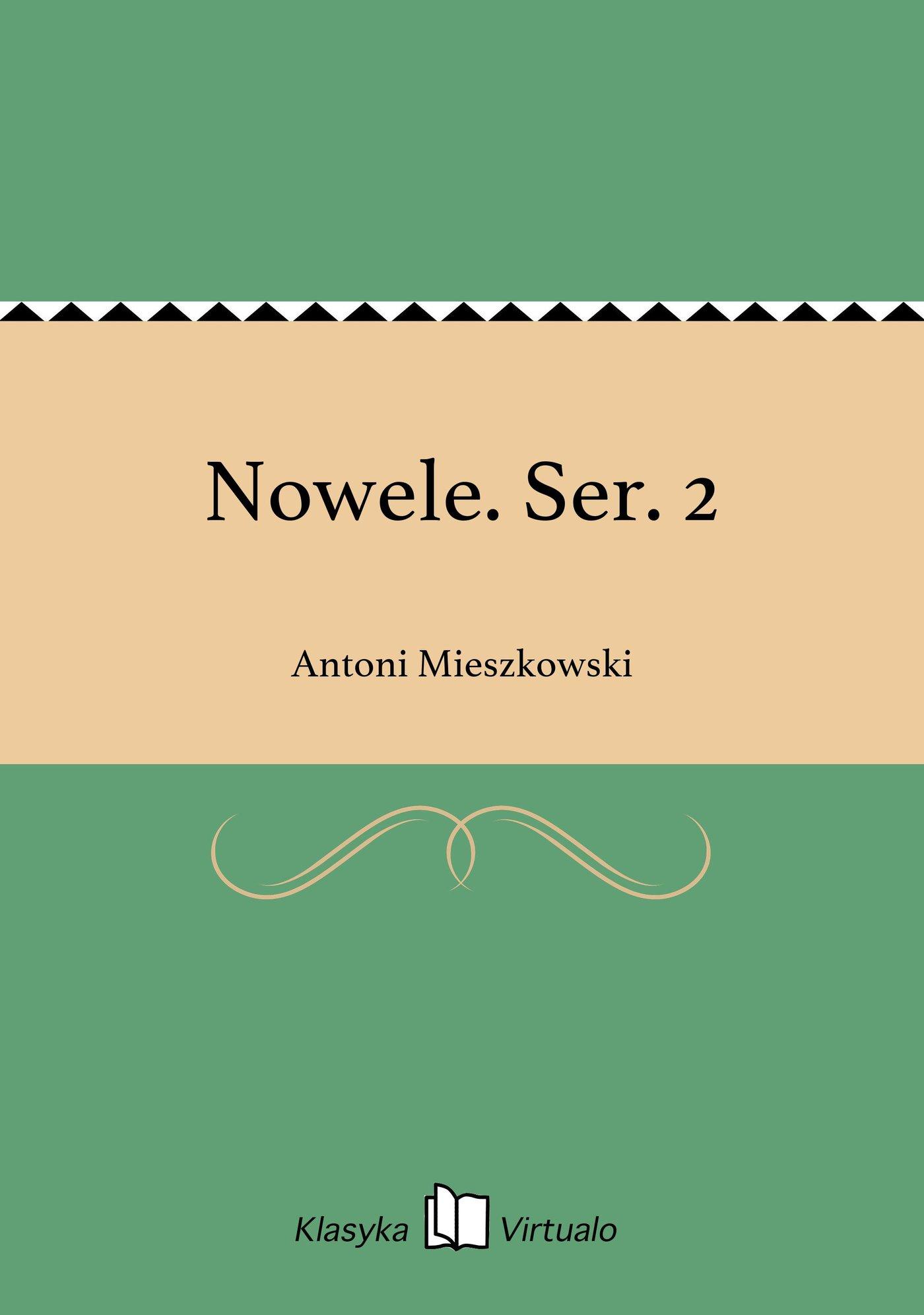 Nowele. Ser. 2 - Ebook (Książka EPUB) do pobrania w formacie EPUB