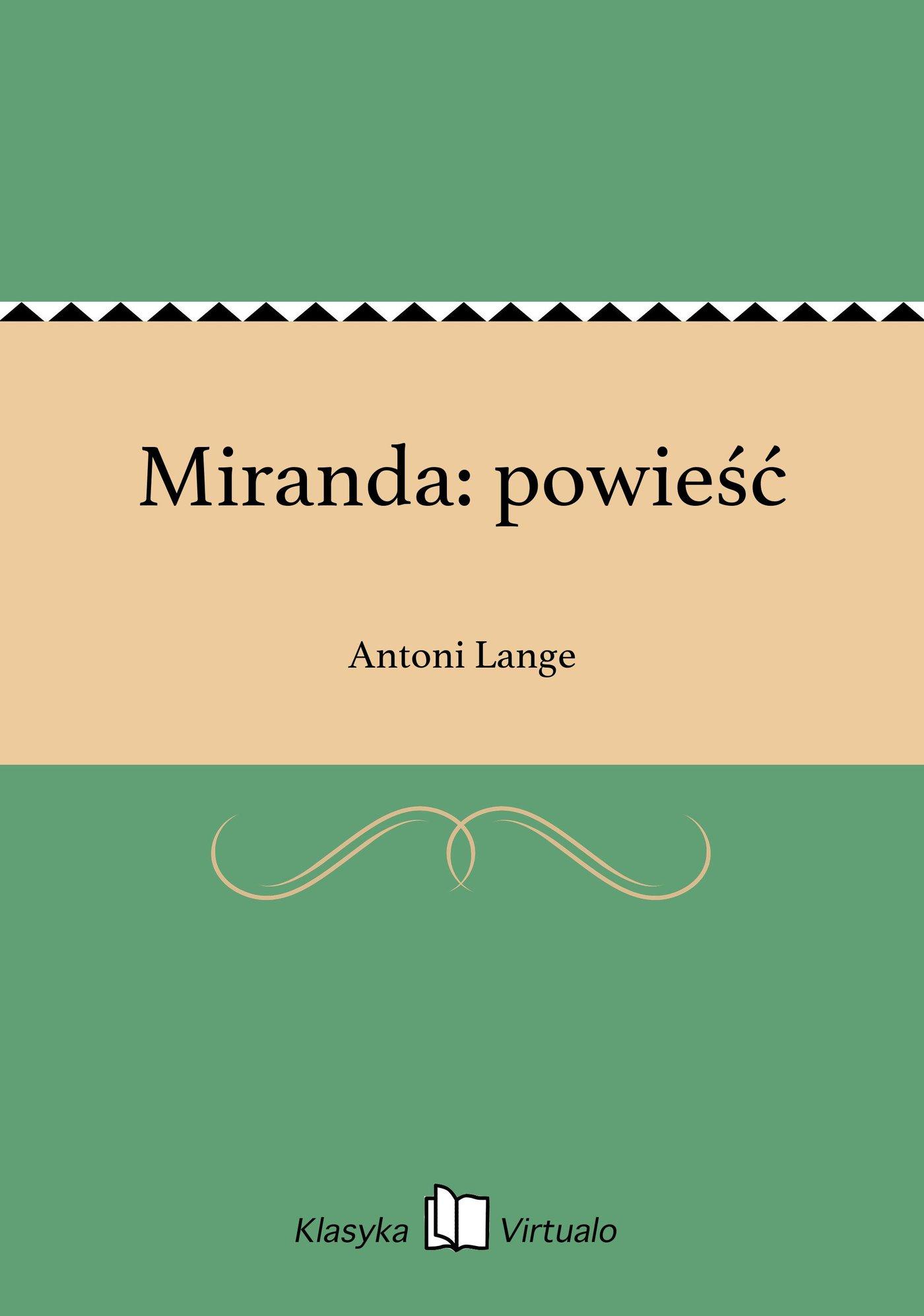 Miranda: powieść - Ebook (Książka EPUB) do pobrania w formacie EPUB