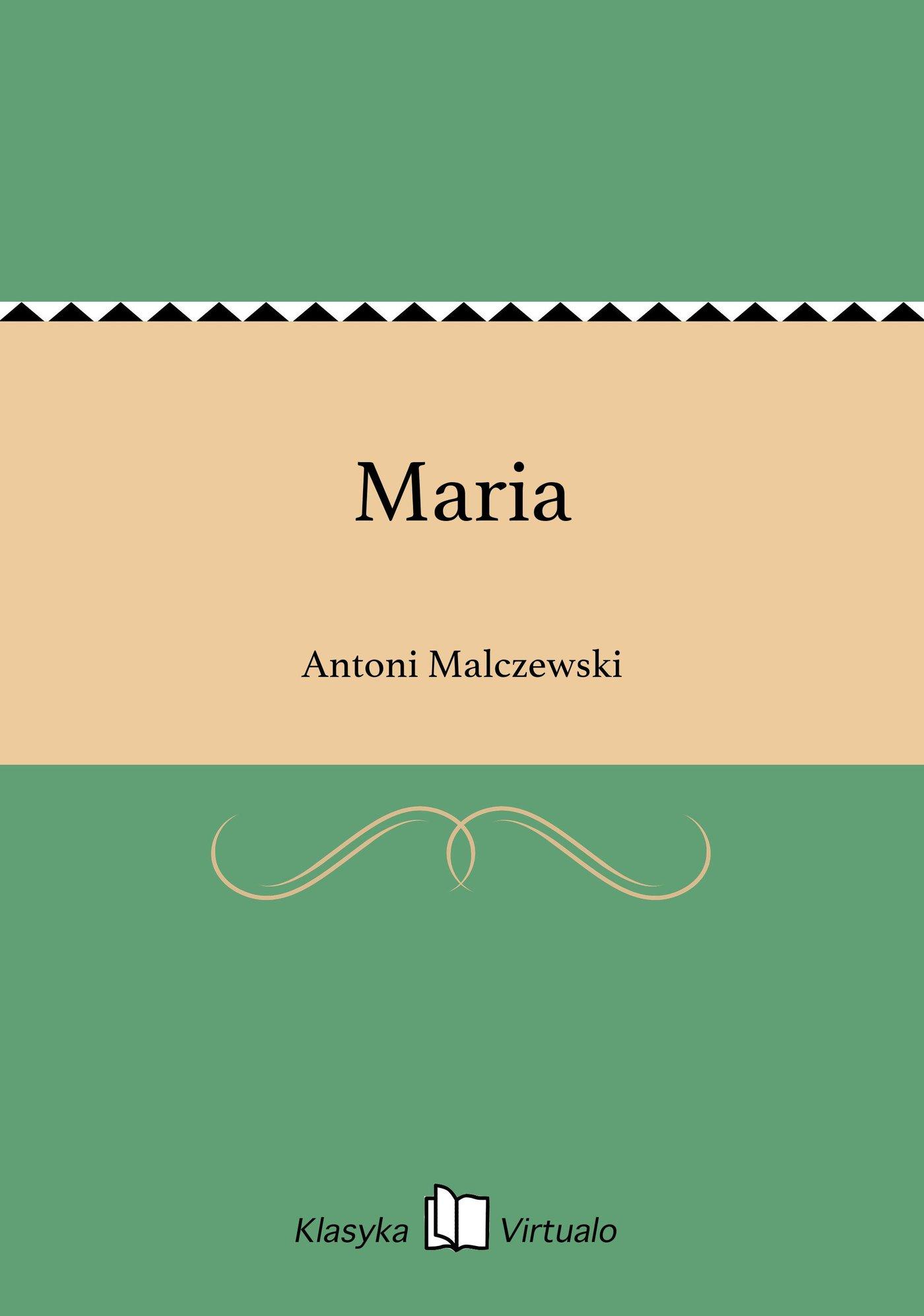 Maria - Ebook (Książka EPUB) do pobrania w formacie EPUB