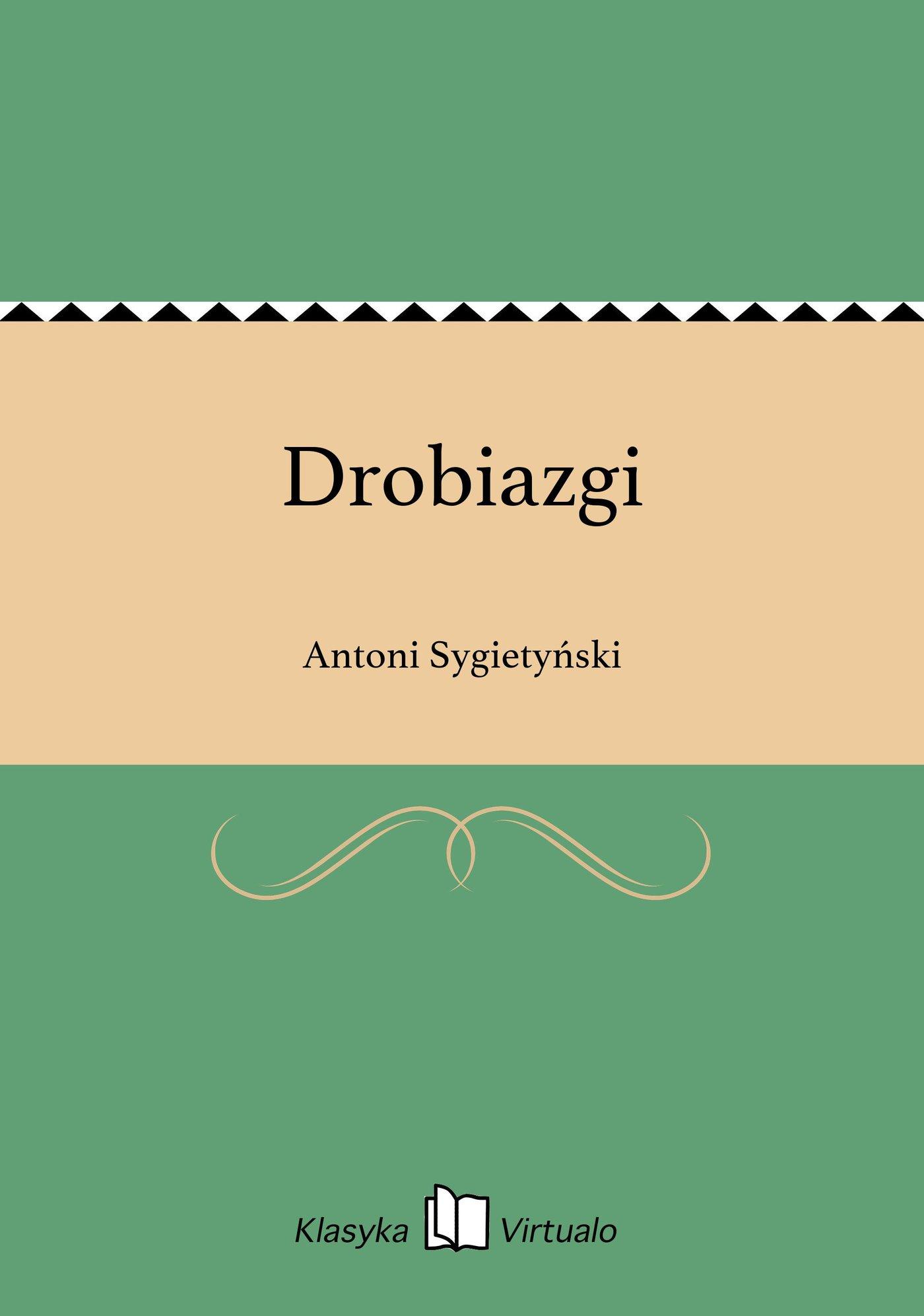 Drobiazgi - Ebook (Książka EPUB) do pobrania w formacie EPUB