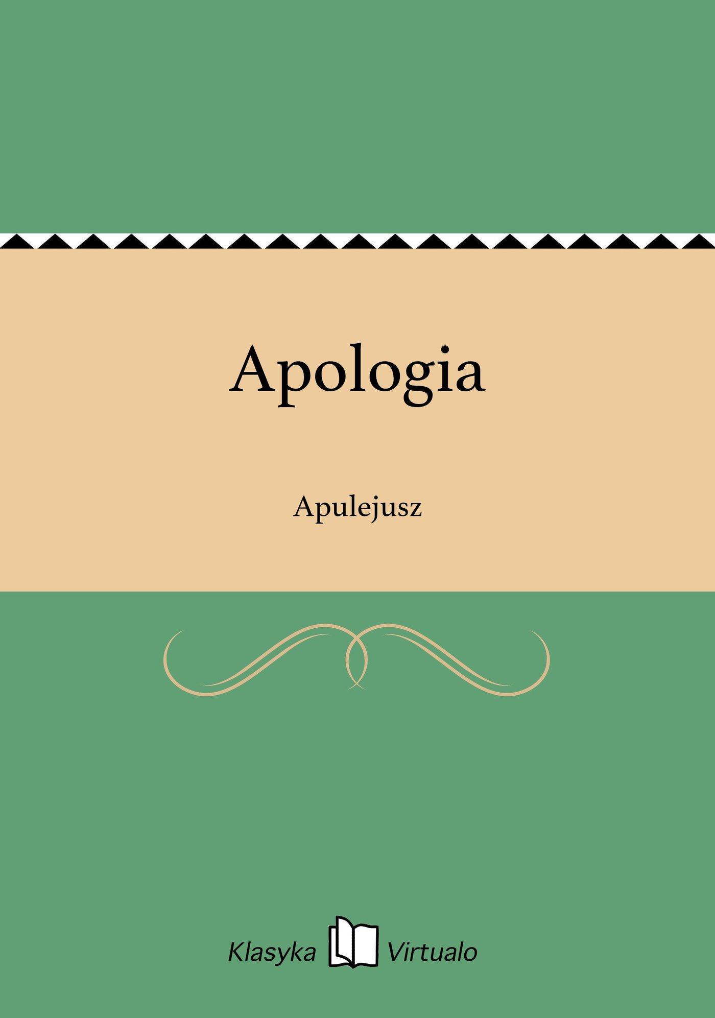 Apologia - Ebook (Książka EPUB) do pobrania w formacie EPUB
