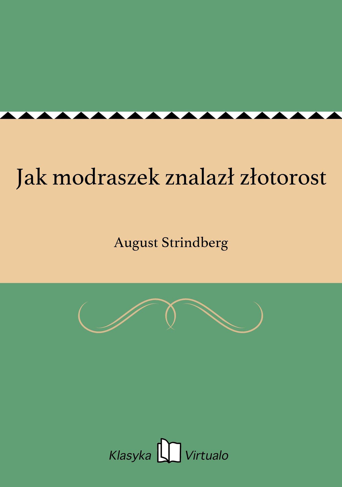 Jak modraszek znalazł złotorost - Ebook (Książka EPUB) do pobrania w formacie EPUB