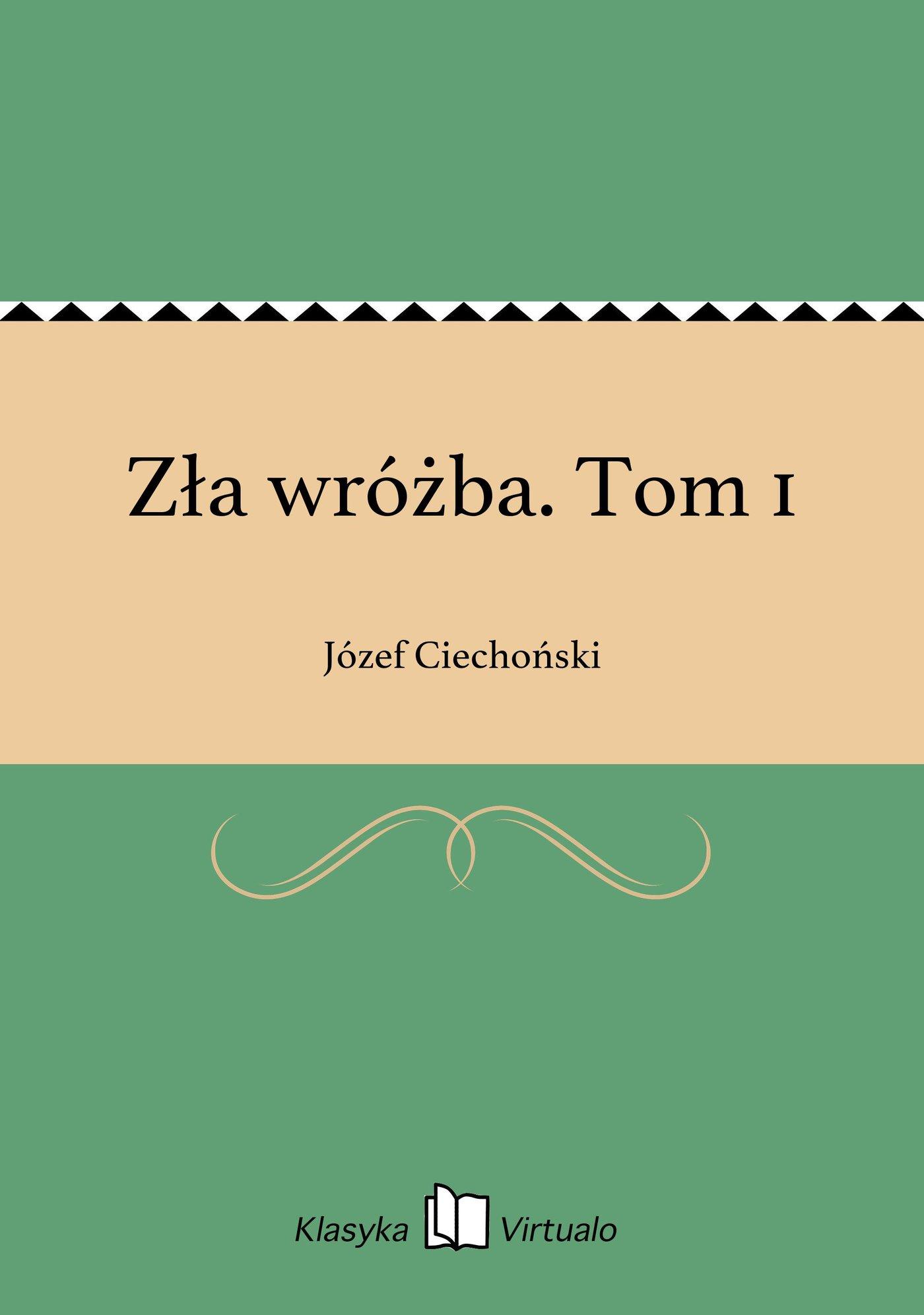Zła wróżba. Tom 1 - Ebook (Książka EPUB) do pobrania w formacie EPUB