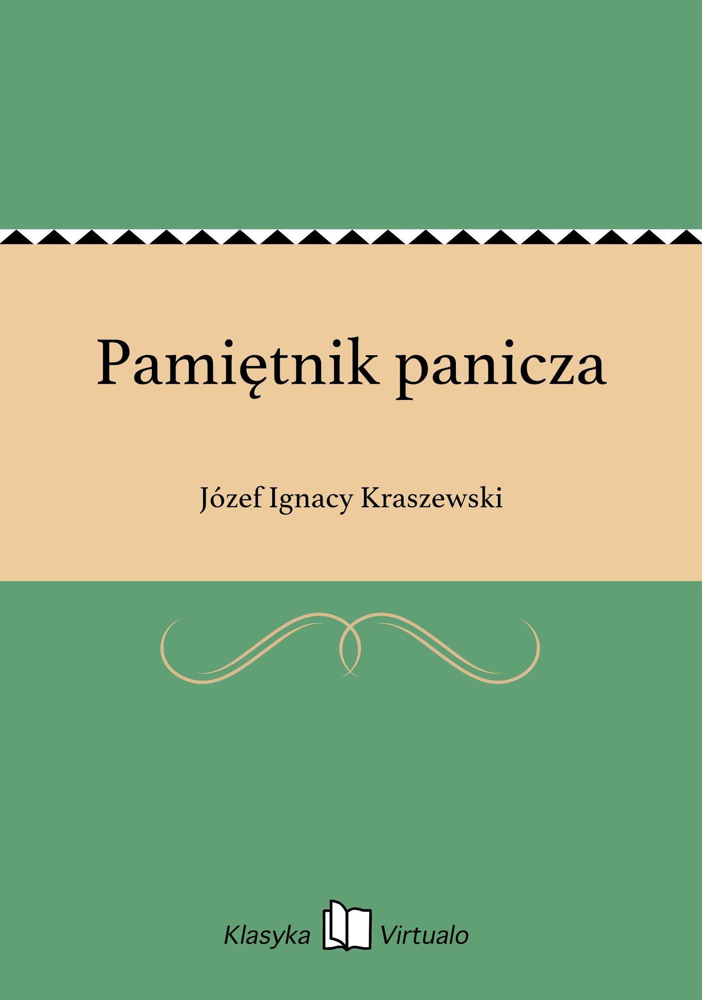 Pamiętnik panicza - Ebook (Książka EPUB) do pobrania w formacie EPUB
