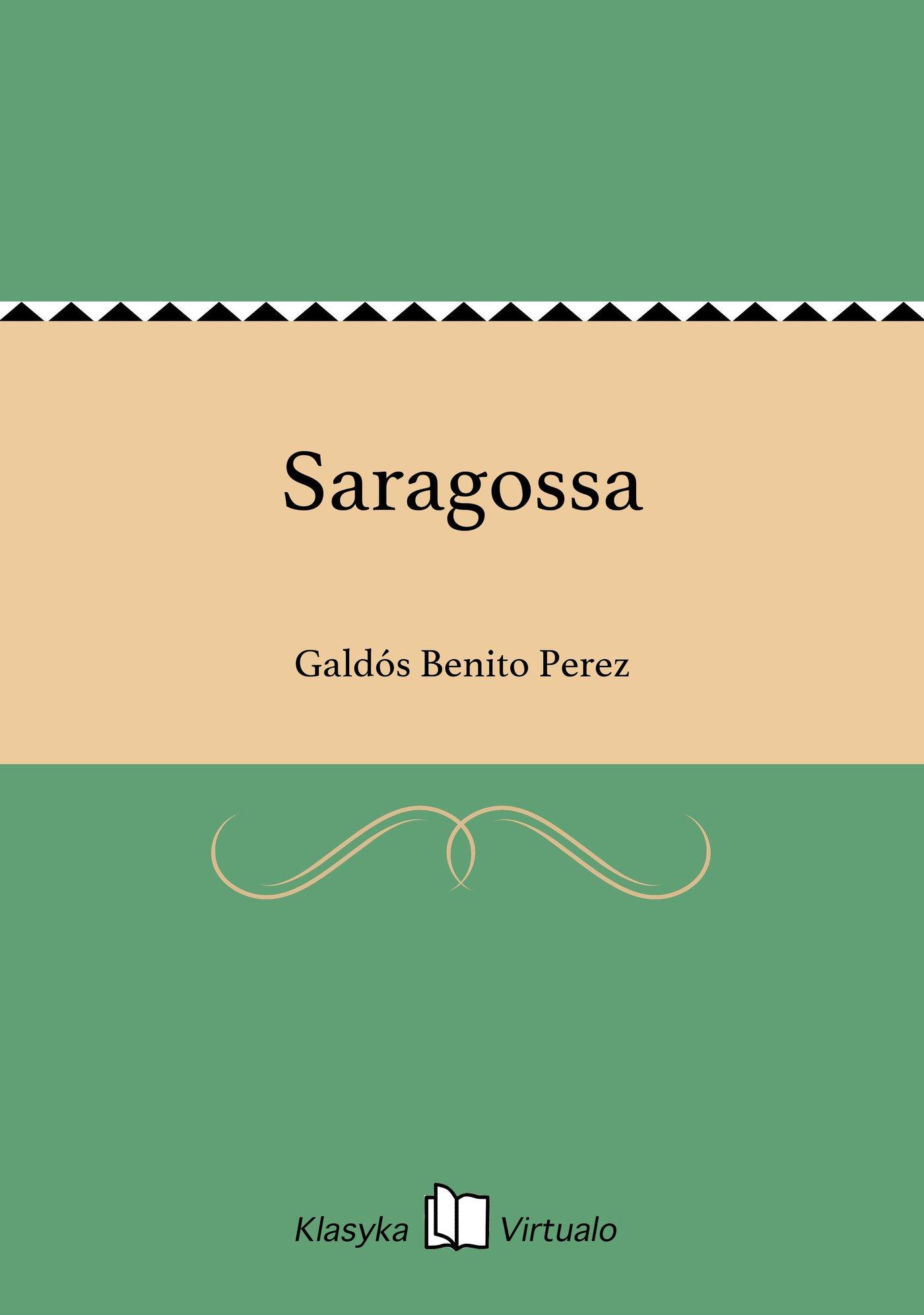Saragossa - Ebook (Książka EPUB) do pobrania w formacie EPUB