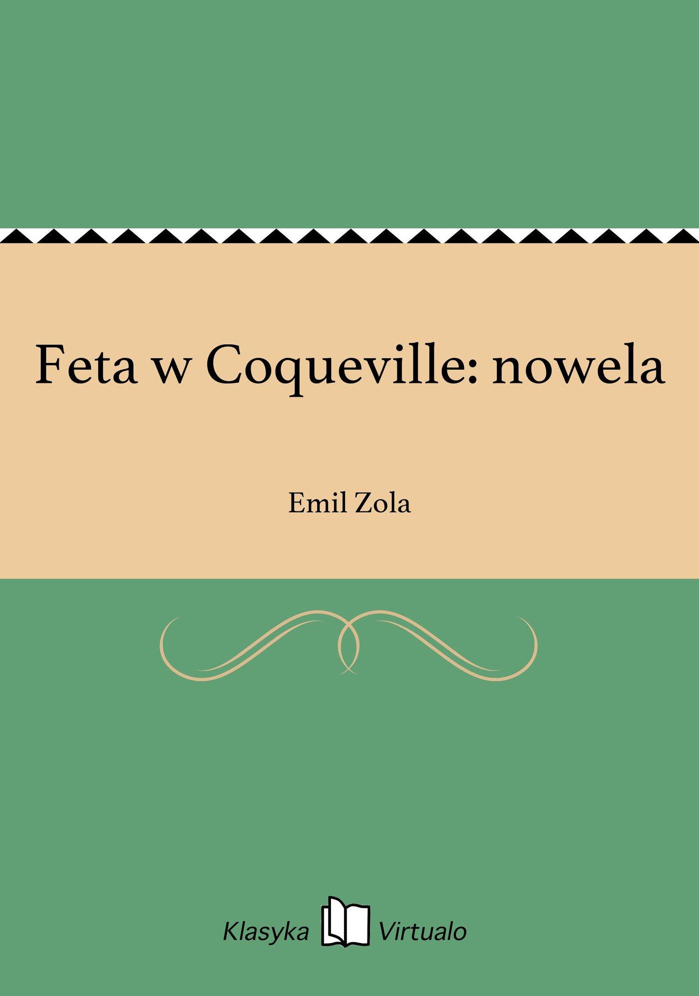 Feta w Coqueville: nowela - Ebook (Książka EPUB) do pobrania w formacie EPUB