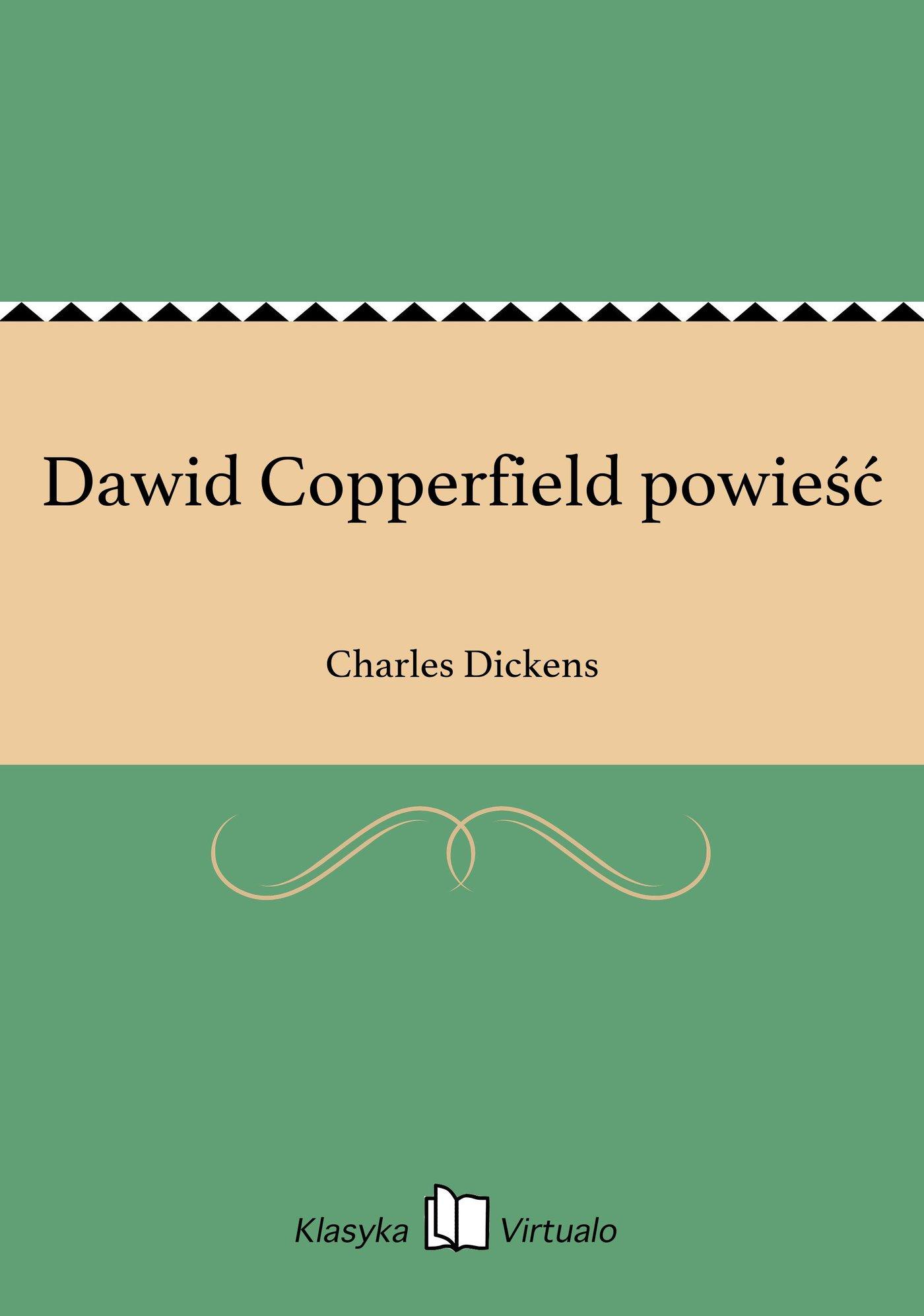 Dawid Copperfield powieść - Ebook (Książka EPUB) do pobrania w formacie EPUB