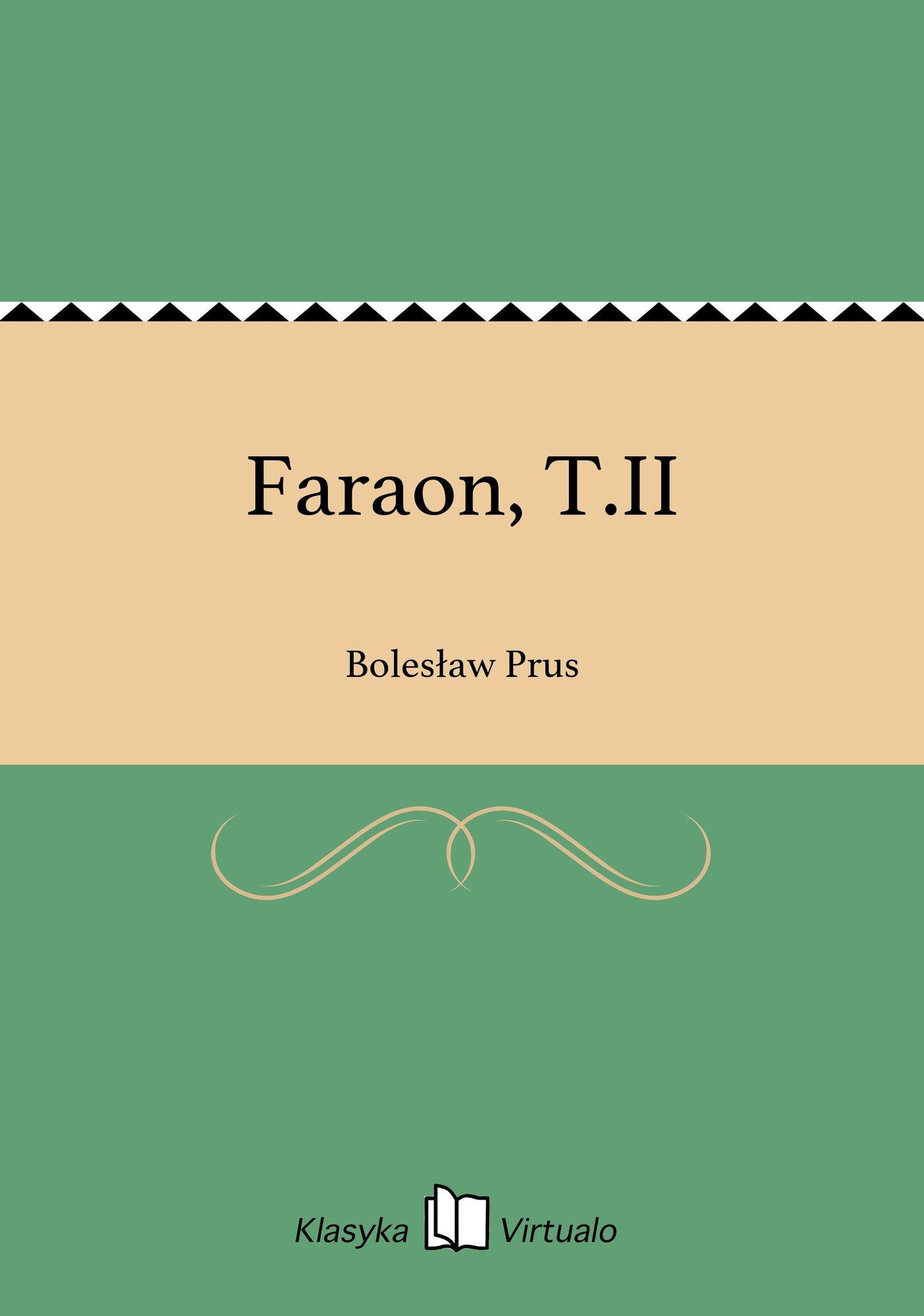 Faraon, T.II - Ebook (Książka EPUB) do pobrania w formacie EPUB
