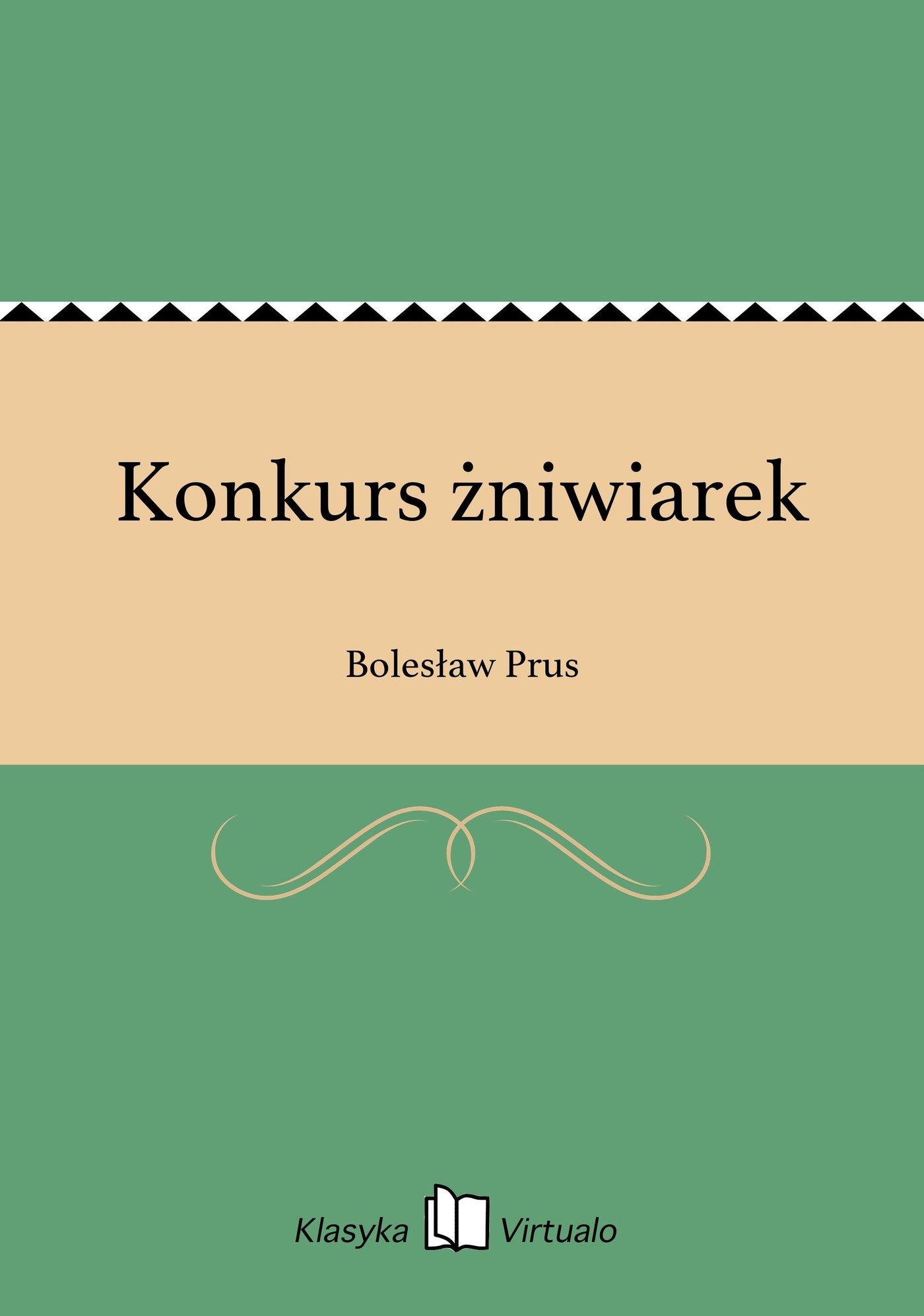 Konkurs żniwiarek - Ebook (Książka EPUB) do pobrania w formacie EPUB