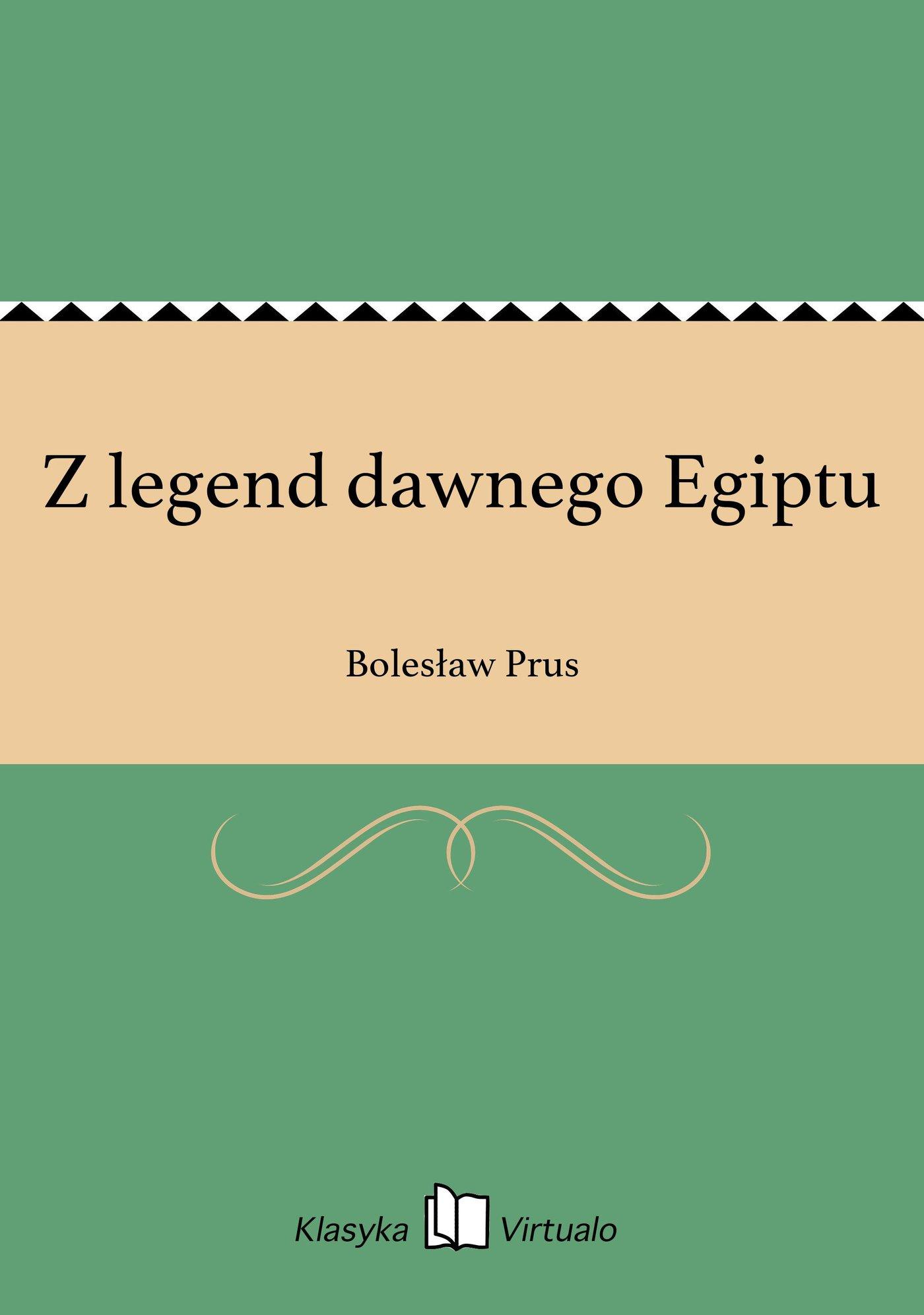 Z legend dawnego Egiptu - Ebook (Książka EPUB) do pobrania w formacie EPUB