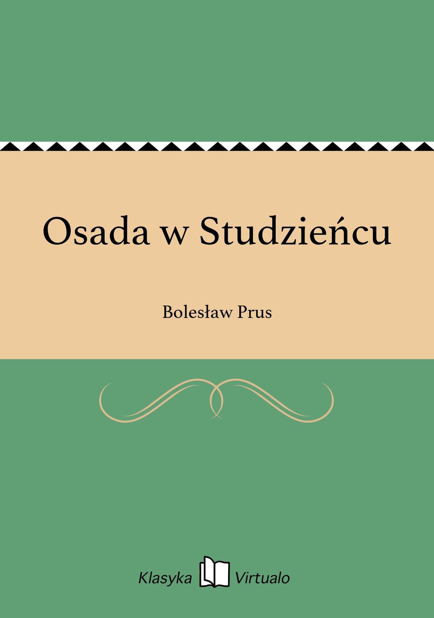 Osada w Studzieńcu - Ebook (Książka EPUB) do pobrania w formacie EPUB