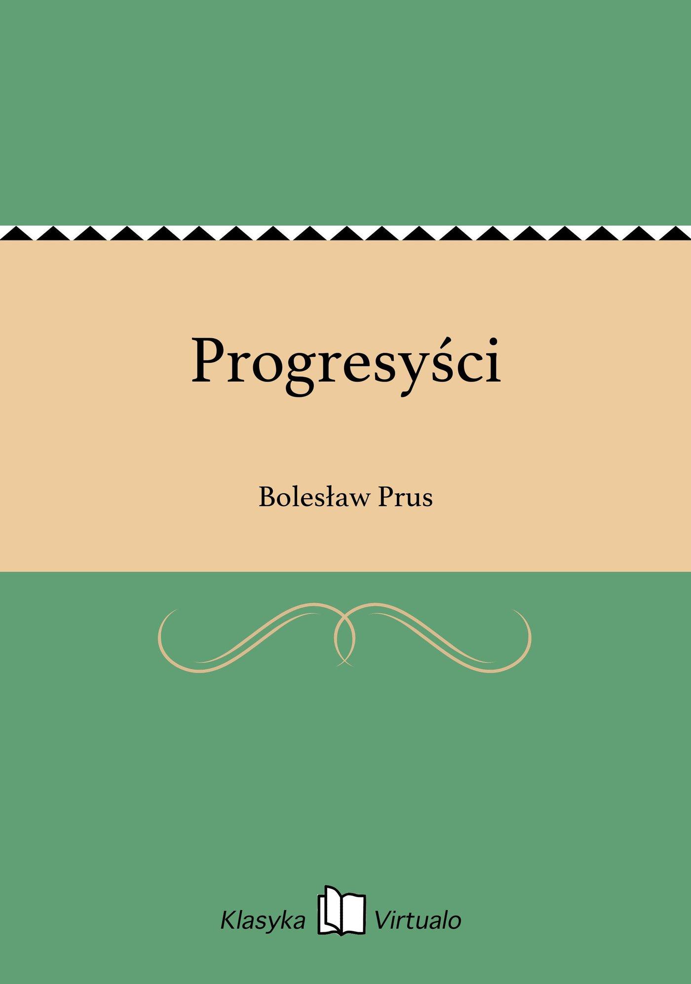 Progresyści - Ebook (Książka EPUB) do pobrania w formacie EPUB